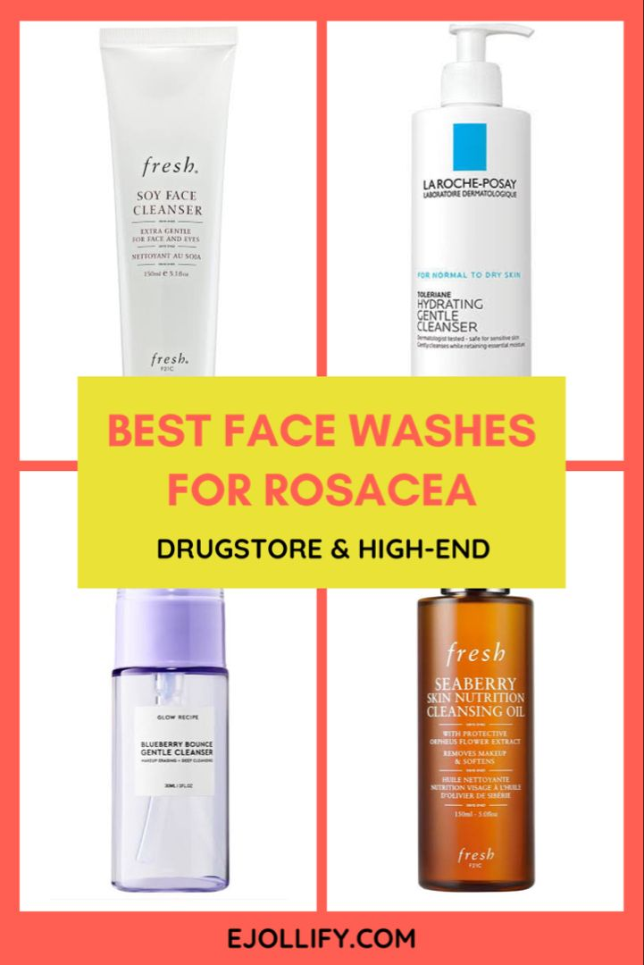 10 Best Cleansers For Rosacea 2020 Best Facial Cleanser Rosacea Skin Care Cleanser Sensitive Skin