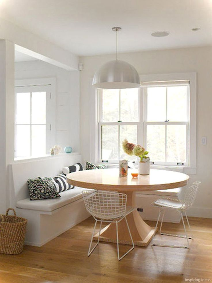 67 Nice Banquette Sitting Ideas for Kitchen