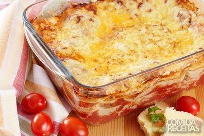 Receita de Lasanha tradicional em receitas de massas, veja essa e outras receitas aqui!