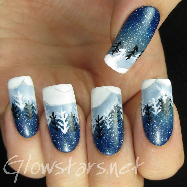 20 best xmasss images on Pinterest | Holiday nails, Christmas nails ...