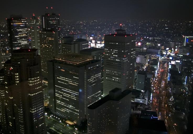 Tokyo Park Hyatt - 52nd Floor Night View