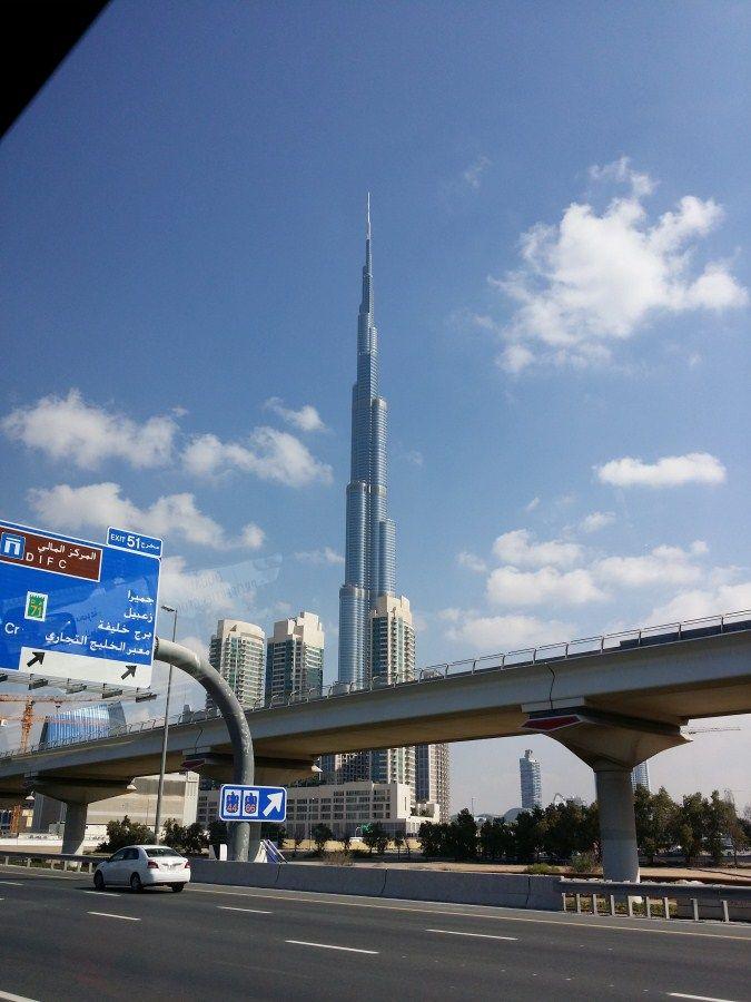 Burj Khalifa Tower (Dubai), edificio más alto del mundo