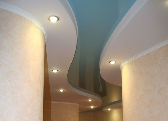 гипсокартонный потолок в коридоре - Поиск в Google