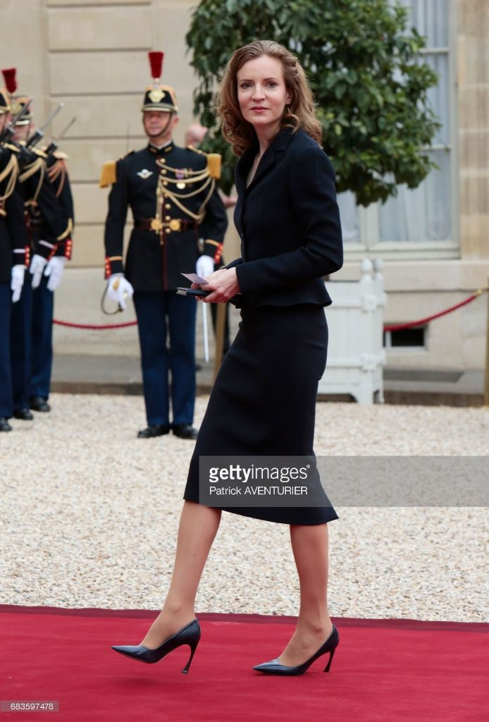 Nathalie Kosciusko-Morizet during the elected French president Emmanuel Macron handover ceremony at the Elysée Palace on May 14, 2017 in Paris, France.