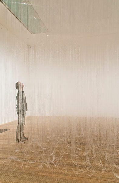 Credit: Mira Schendel Estate Still Waves of Probability, 1969 at Tate Modern