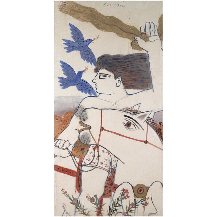 Alecos Fassianos | lot | Sotheby's