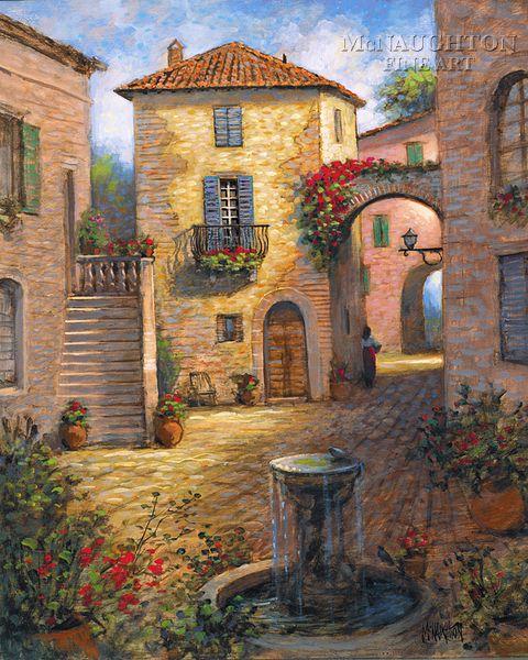 Landscapes - Tuscany - Tuscan Beauty - McNaughton Fine Art Company