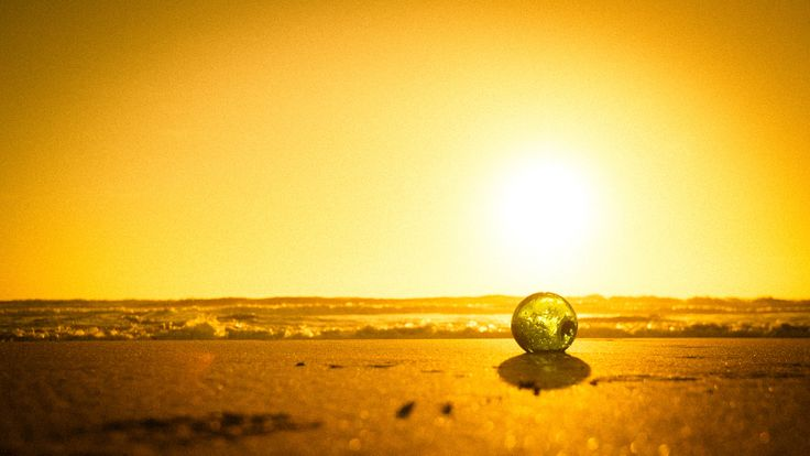 The glass ball scene