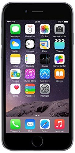 """APPLE 64GB IPHONE 6 A1586 4.7"""" INCH SPACE GREY FACTORY UNLOCKED LTE 4G CELL PHONE"""