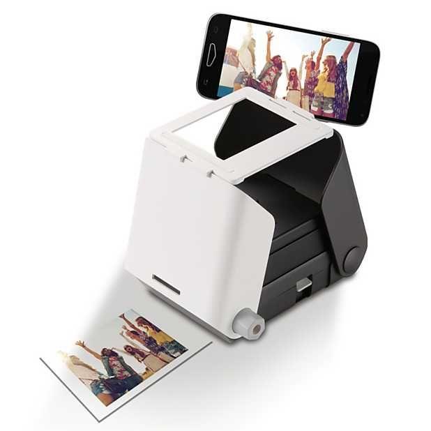 Kiipix La Impresora De Fotos Instantáneas Para El Smartphone Impresora Fotografica Impresora Smartphone