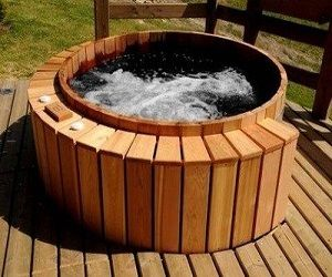 Highest Rated Cedar Hot Tubs for Sale in 2013 - Read More: http://homeandgardenexpress.com/highest-rated-cedar-hot-tubs-for-sale/