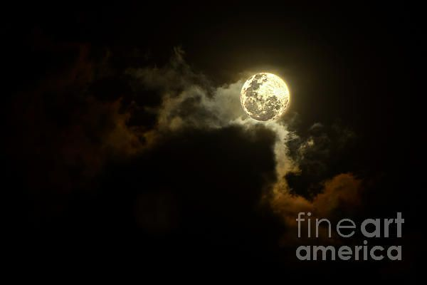 #MOON OVER #SUNSET #CLOUDS by #Kaye #Menner #Photography Quality Prints Cards and more at: http://kaye-menner.artistwebsites.com/featured/moon-over-sunset-clouds-by-kaye-menner-kaye-menner.html