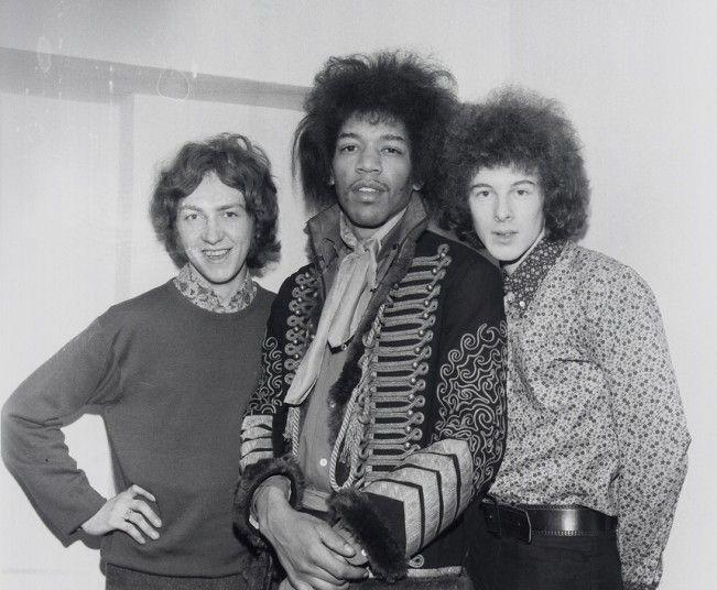 The Jimi Hendrix Experience: Mitch Mitchell, Jimi Hendrix and Noel Redding