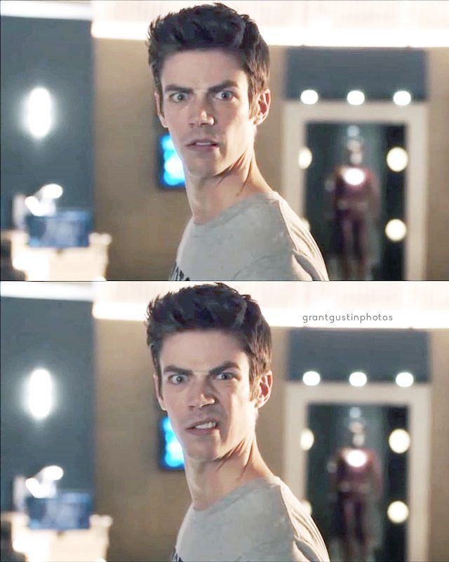 when someone says that grant gustin isn't hot