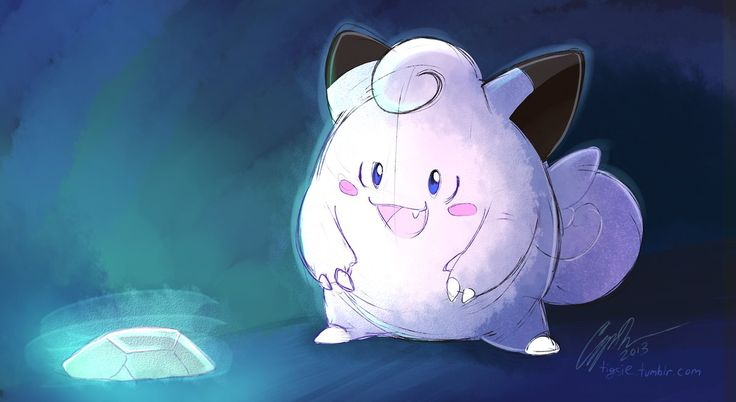 "Favorite Fairy - Clefairy Today, I'll fly away! My first experience with the Pokemon Anime was the VHS episode ""Clefairy and the Moon Stone."" I watched it over and over and over a..."