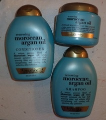 Review: Organix Moroccan Argan Oil Hair Products