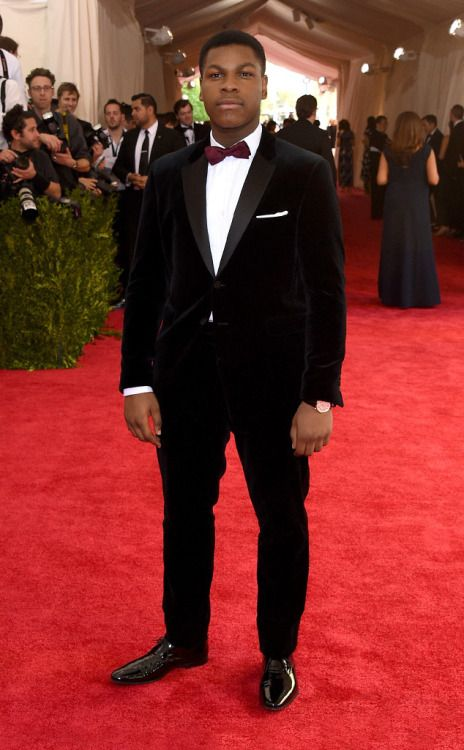 John Boyega: looks good in a storm trooper suit and a tux!