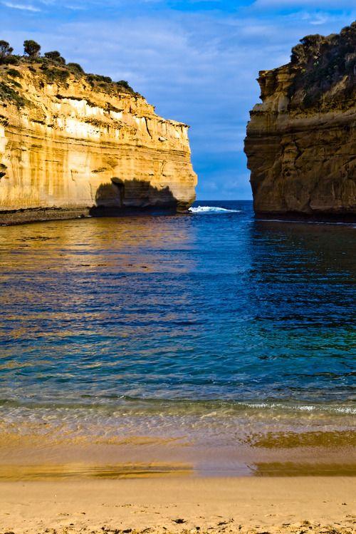 Loch Ard Lagoon, Port Campbell National Park, Great Ocean Road, Victoria, Australia