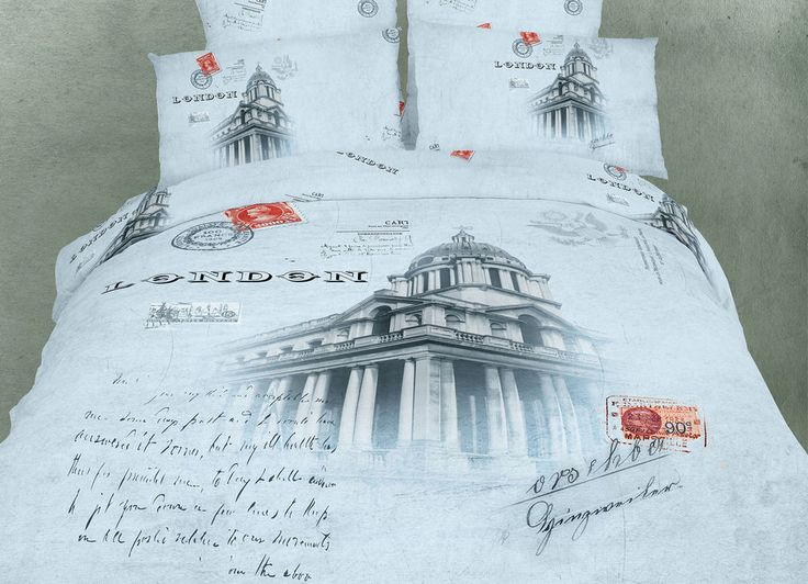 Novelty Paris Luxury Duvet Cover Bedding Set White Queen 6PC Reversible Cotton   #DolceMela #Novelty