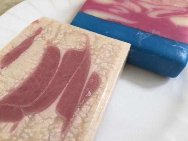 Organic Handcrafted soaps. Rose Originals. Coconut soaps