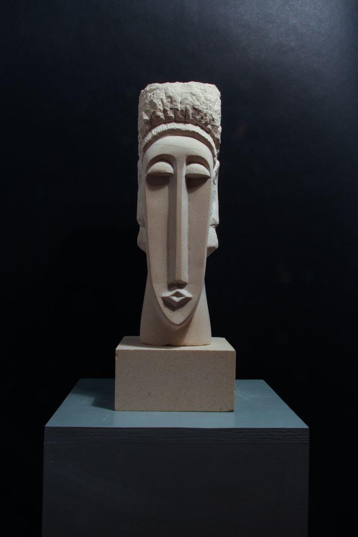 """Kephale"" - Hand carved Tadcaster limestone"