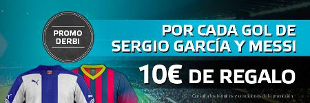 el forero jrvm y todos los bonos de deportes: suertia bono 50 euros si Messi o Sergio Garcia mar...