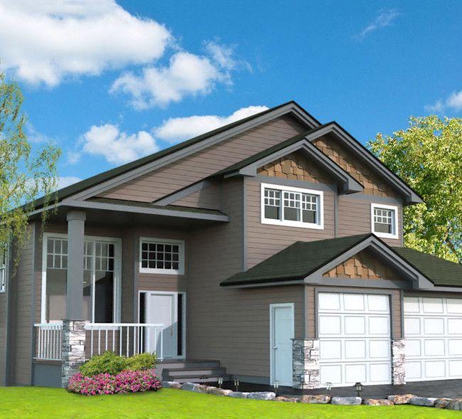 Modified Bi Level House Plans Alberta
