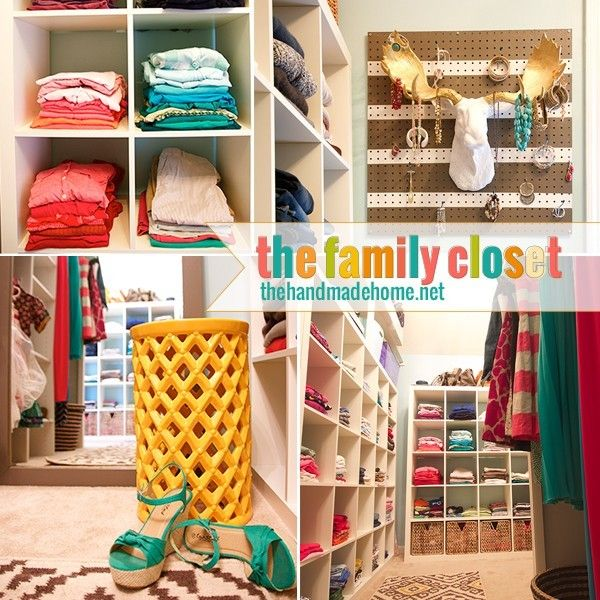 This family of 5 made a huge closet to fit everyone's clothes in! Want to try this at home? Find out how they did it.