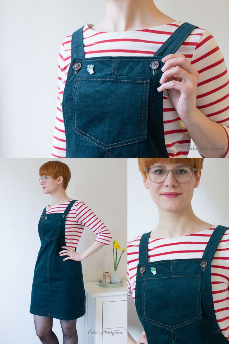 Cleo Pinafore Dress - Tilly and the Buttons sewing pattern