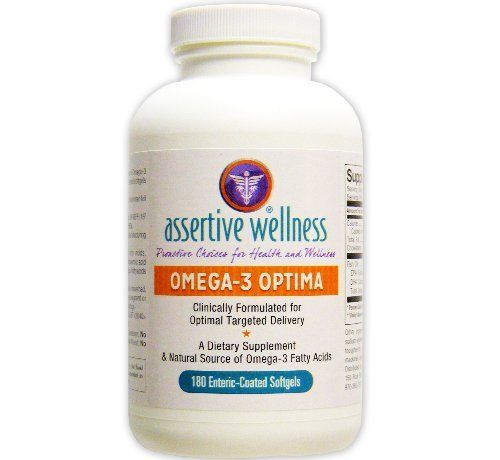 "Omega-3 Optima - Best Natural Source of EPA & DHA Fatty Acids - Clinically Formulated for Optimal Delivery - Promotes Healthy Body Functions - Enteric ""Smart"" Coated for 3X Higher Absorption - NO Fishy-Burp - Mercury Free - Satisfaction Guaranteed by Assertive Wellness, http://www.amazon.com/dp/B00CJFYZDM/ref=cm_sw_r_pi_dp_BHjksb0XT6JQN"