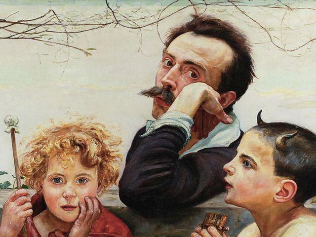 Wlastimil HOFMAN, Apoteoza sztuki, 1920, Źródło: Rempex