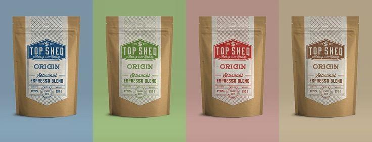 Top Shed – дизайн упаковки кофе