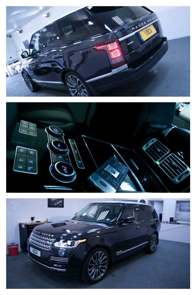Range Rover Autobiography Protected With Gtechniq Crystal Serum And EXO On  Top For Extra Gloss And