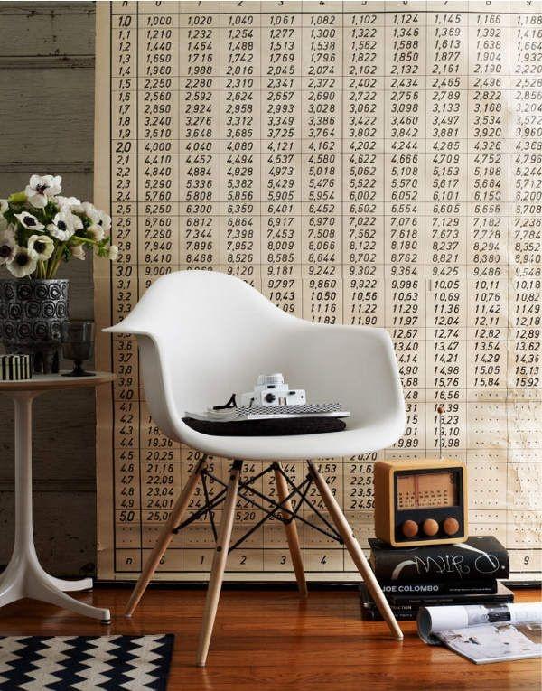 Eames stoelen! love it
