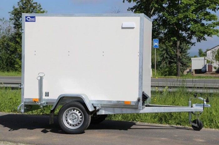 Kofferanhänger ungebremst F7520D - Anhänger, Elektrofahrzeug und Aufbauten - PKW Anhänger Hersteller Blyss
