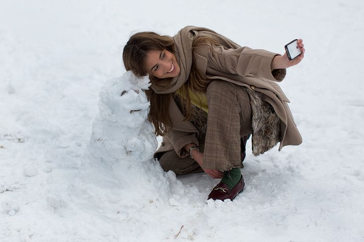 What a great photo! On the Street…..Les Tuileries in the Snow, Paris ~ The Sartorialist