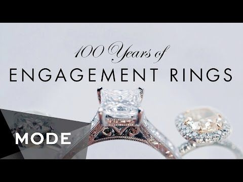 '100 Years Of Engagement Rings' Shows Us How Proposals Have Changes In The Past Century' 1920s is my favorite! But rose gold color would be much better :)