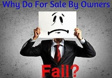 Why Do For Sale By Owners Fail. Selling #realestate for sale by owner is not easy. See the reasons why most FSBO'S end up listing with a Realtor: http://www.maxrealestateexposure.com/how-to-sell-a-home-for-sale-by-owner/
