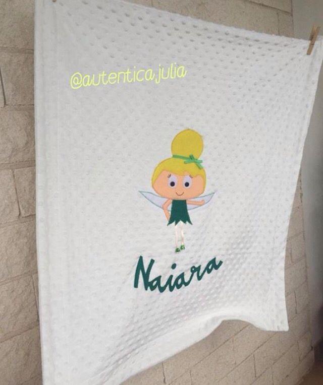 La pequeña Naiara  podrá disfrutar de abrazos calentitos muy pronto, con esta mantita personalizada... ⭐️25€