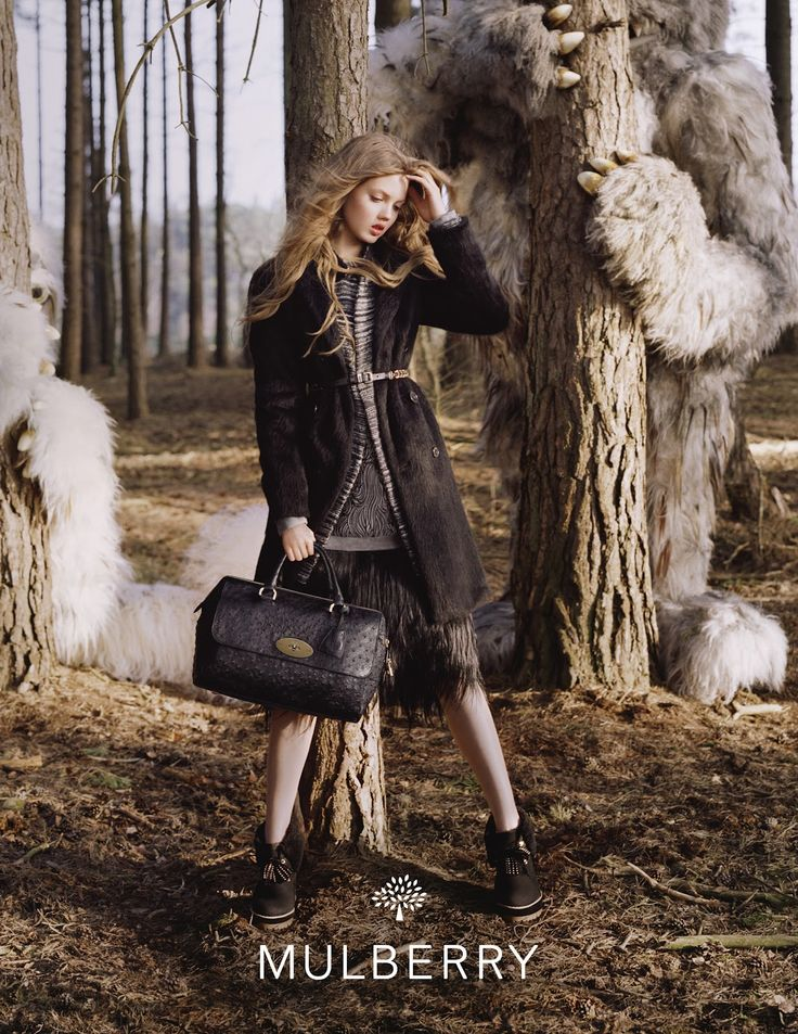lindsey wixson by tim walker for mulberry f/w 12.13 | visual optimism; fashion editorials, shows, campaigns & more!