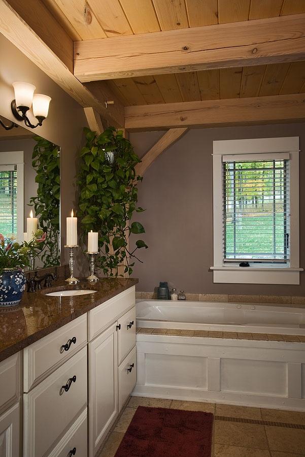 Log Cabins, Beautiful Homes, Bathroom Ideas