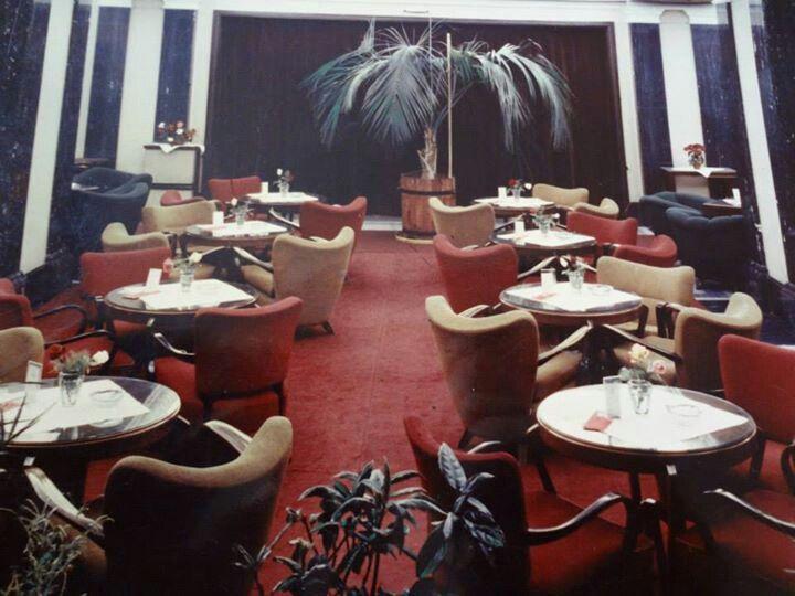 Historical hotel bar