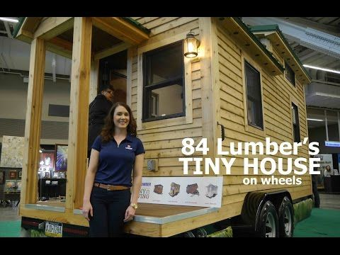 84 Lumber's New Tiny House on Wheels - http://tinyhousetalk.com/84-lumbers-new-tiny-house-on-wheels/