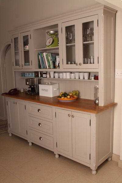 Kitchen Dresser   Like A Giant Hoosier Cabinet ; Part 90