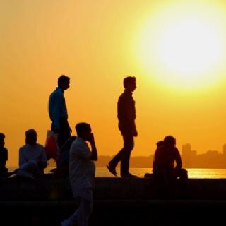 Sunset in Lower Parel (Mumbai)