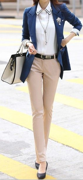 impactful khaki pants outfits for women
