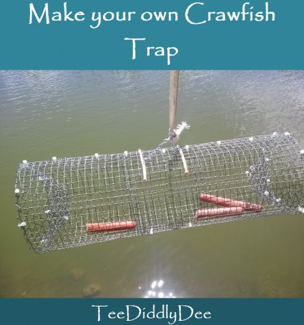 Make your own diy crawfish trap fish survival and camping for Create your own fish