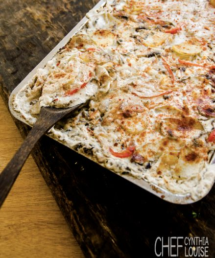 Amazing dairy lactose free potato bake recipe. Your loved ones will never know!