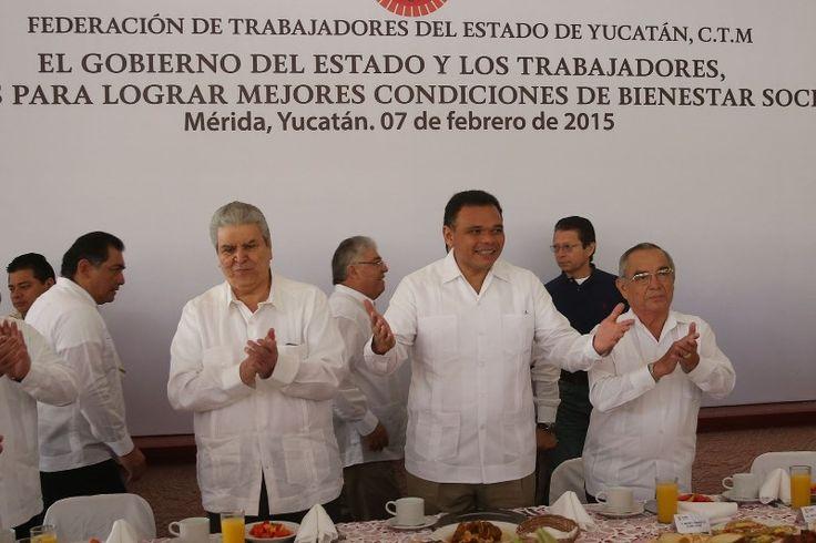 Pueblo y Gobierno coordinados para continuar con el desarrollo económico de Yucatán