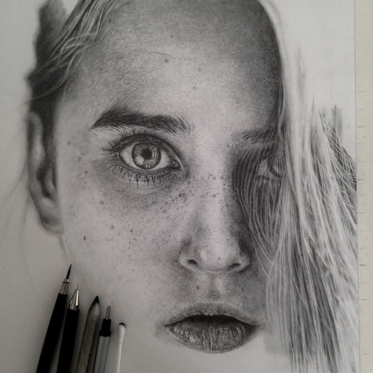 Stunning Photo-Realistic Graphite Drawings by Monica Lee